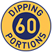 60 Dipping portions symbol