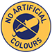 No artificial colours symbol